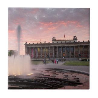 Altes Museum and Lustgarten in Berlin Tile