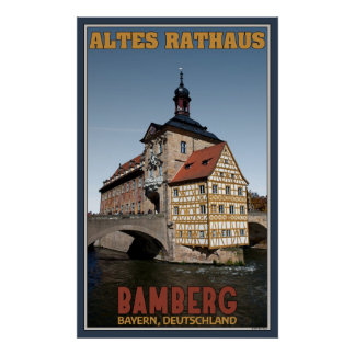 Altes Rathaus - Old City Hall Poster