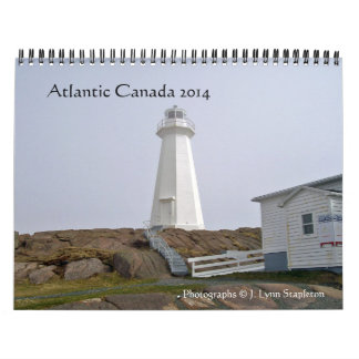 Altlantic Canada 2014 Wall Calendars