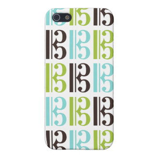 Alto Clef Pattern Cover For iPhone 5/5S