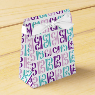 Alto Clef Pattern Favor Box