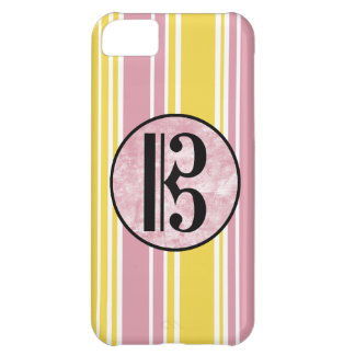 Alto Clef Stripes Case For iPhone 5C