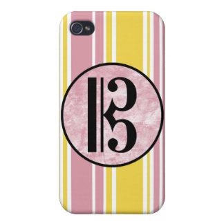Alto Clef Stripes iPhone 4/4S Cover