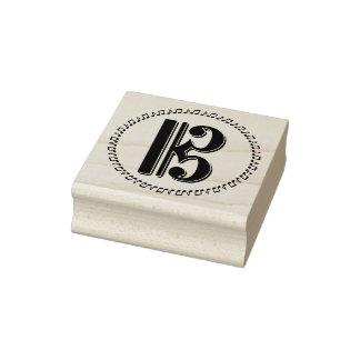 Alto or Tenor Clef Music Note Design C Clef Rubber Stamp