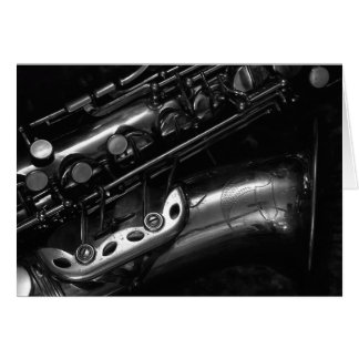 Alto Saxophone Greeting Card