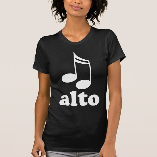 Alto Singer GIft T-Shirt