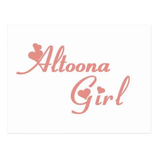 Altoona Girl tee shirts Postcard