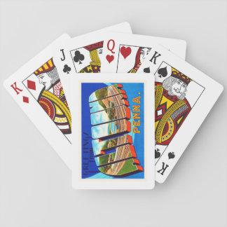 Altoona Pennsylvania PA Vintage Travel Souvenir Playing Cards