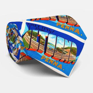 Altoona Pennsylvania PA Vintage Travel Souvenir Tie