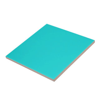 Altruistically Invaluable Turquoise Blue Color Tile