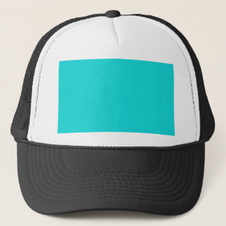 Altruistically Invaluable Turquoise Blue Color Trucker Hat