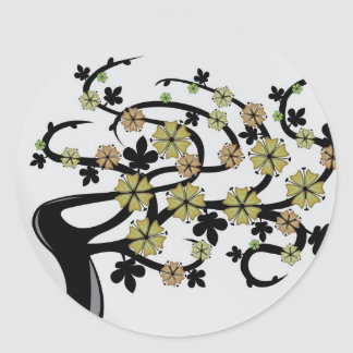 Aludra the Tree Classic Round Sticker