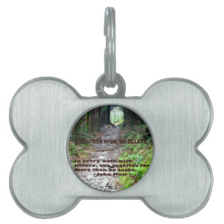 Alum Cave Trail: Every walk w/nature… John Muir Pet Name Tag