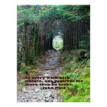 Alum Cave Trail: Every walk w/nature… John Muir Poster
