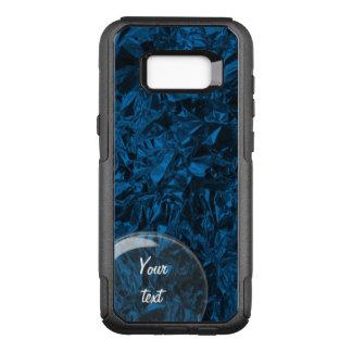 Aluminum Foil Design in Blue OtterBox Commuter Samsung Galaxy S8+ Case