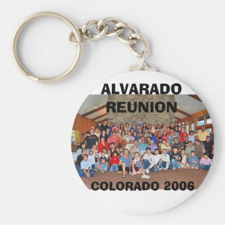 ALVARADO REUNION, COLORADO 2006 KEYCHAIN