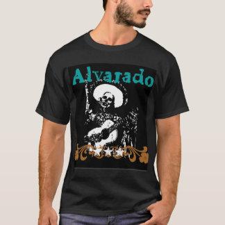 Alvarado Skeleton Guitar T T-Shirt