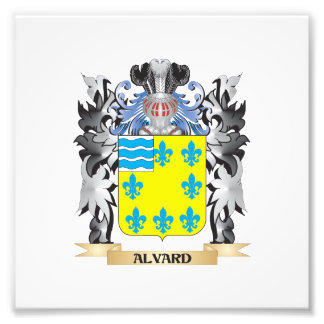 Alvard Coat of Arms - Family Crest Photograph