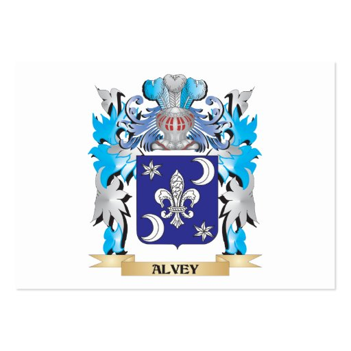 Alvey Coat Of Arms Business Cards