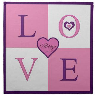 Alway Love Cloth Napkin