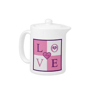 Alway Love Porcelain Teapot