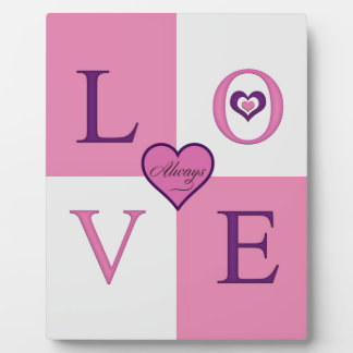 Alway Love Products Plague Easel Plaque