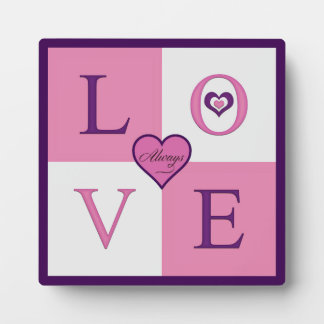 Alway Love Products Plaque