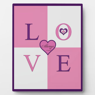 Alway Love Products Plaque Easel