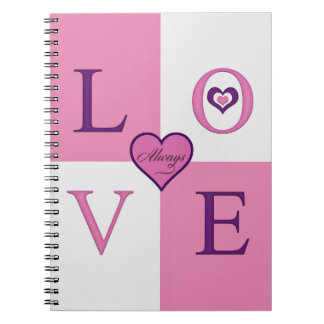 Alway Love Products Spiral Photo Notebook
