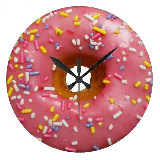 Always a good time for doughnut wall clock