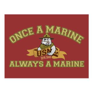 Always A Marine Postcard