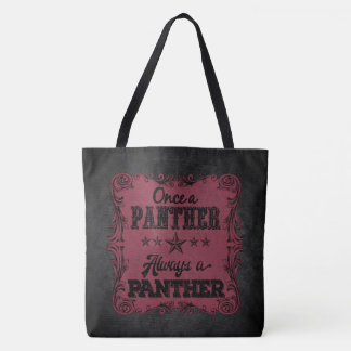 Always a Panther Personalized Tote
