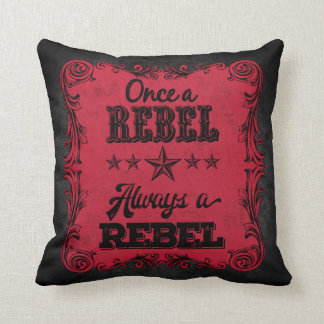 Always A Rebel Personalized Pillow