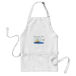 Always a Sailor at Heart Aprons