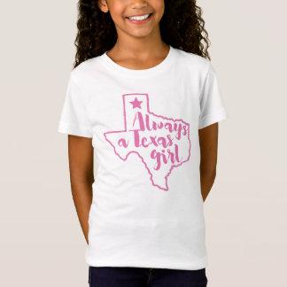 Always a Texas Girl Pink T-shirt