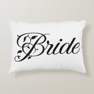 Always and forever Bride Wedding Pillow