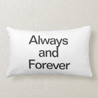 always and forever lumbar pillow