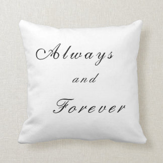 Always and Forever- Vampire Diaries Throw Pillow