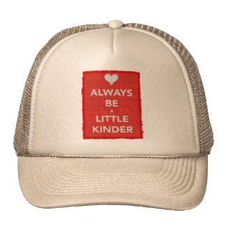 Always Be A Little Kinder Red Trucker Hat