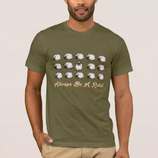 Always be a Rebel funny t-shirt design