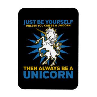 Always be a Unicorn Rectangular Photo Magnet