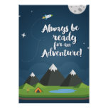 Always be ready for an Adventure! Nursery & Kids Poster