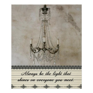 Always be the Light Poster