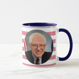 Always Bernie Sanders American Flag Coffee Mug