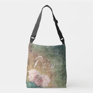 Always Dream - Tote - Bag - Green - Flowers