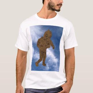 Always explore sky ocean gold scuba dude shirt