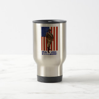 Always Faithful -- Be A U.S. Marine Travel Mug