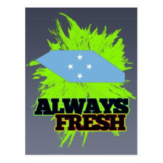 Always Fresh Micronesia Postcard