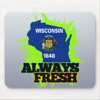 Always Fresh Wisconsin Mouse Pad