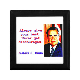 Always Give Your Best - Richard Nixon Gift Box